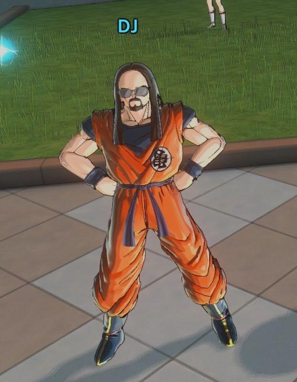 Steve Aoki en Dragon Ball Xenoverse 2