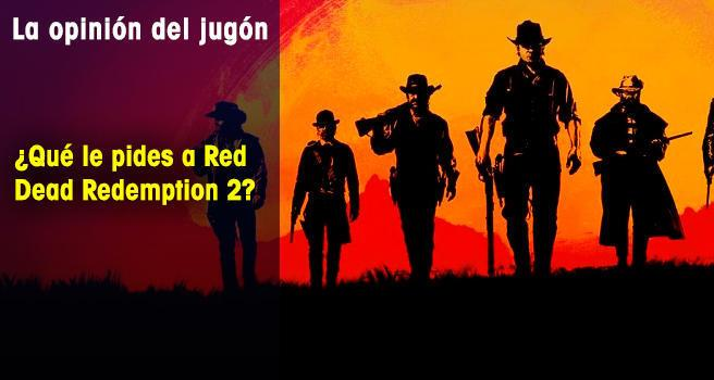 ¿Qué le pides a Red Dead Redemption 2?
