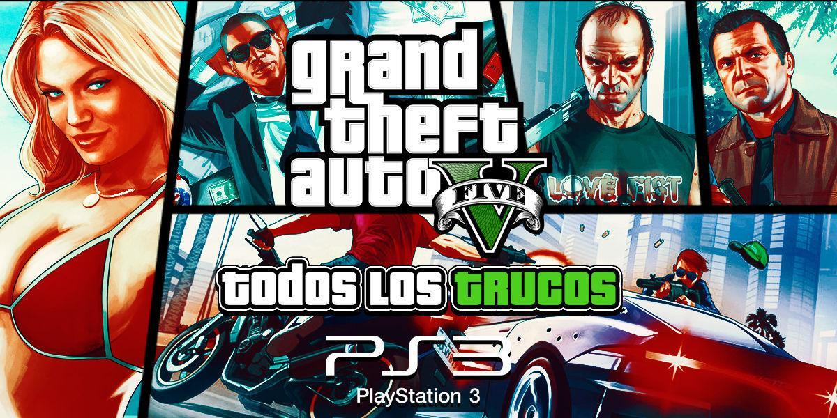 Trucos de Grand Theft Auto V para PS3