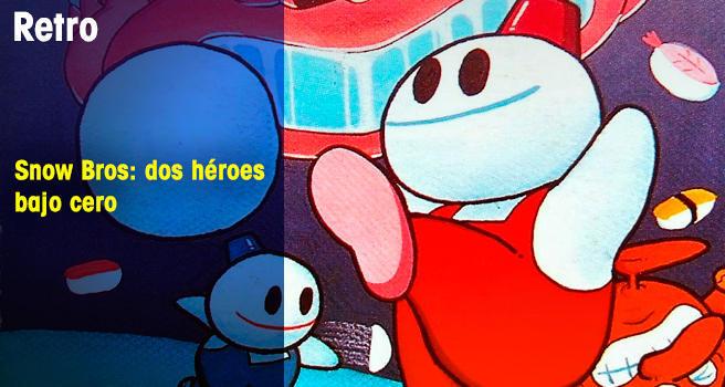 Snow Bros: dos héroes bajo cero