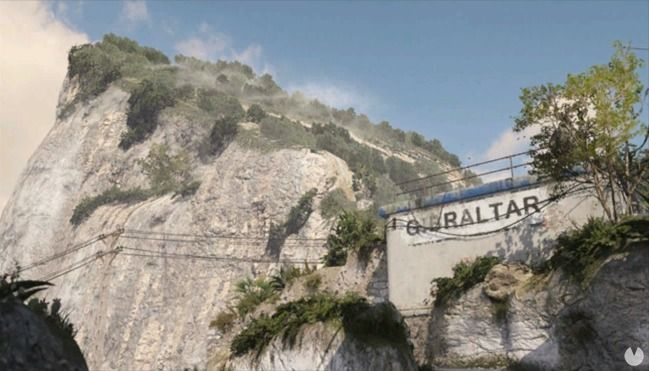 Mapa Gibraltar de Call of Duty: WWII