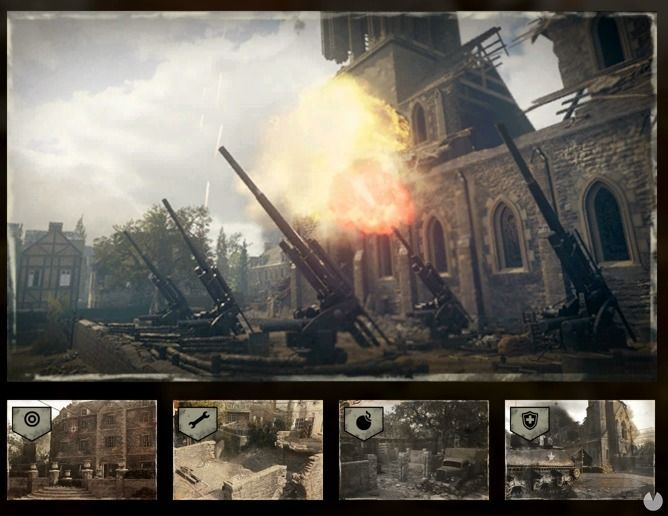 Mapa Operation Breakout de Call of Duty: WWII