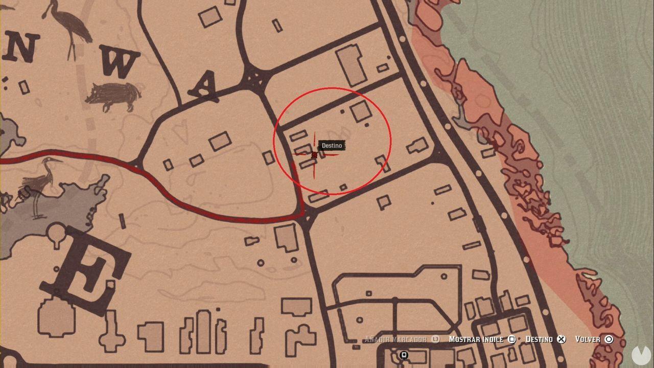 Red Dead Redemption 2 - Localización del truco del caballo gratis