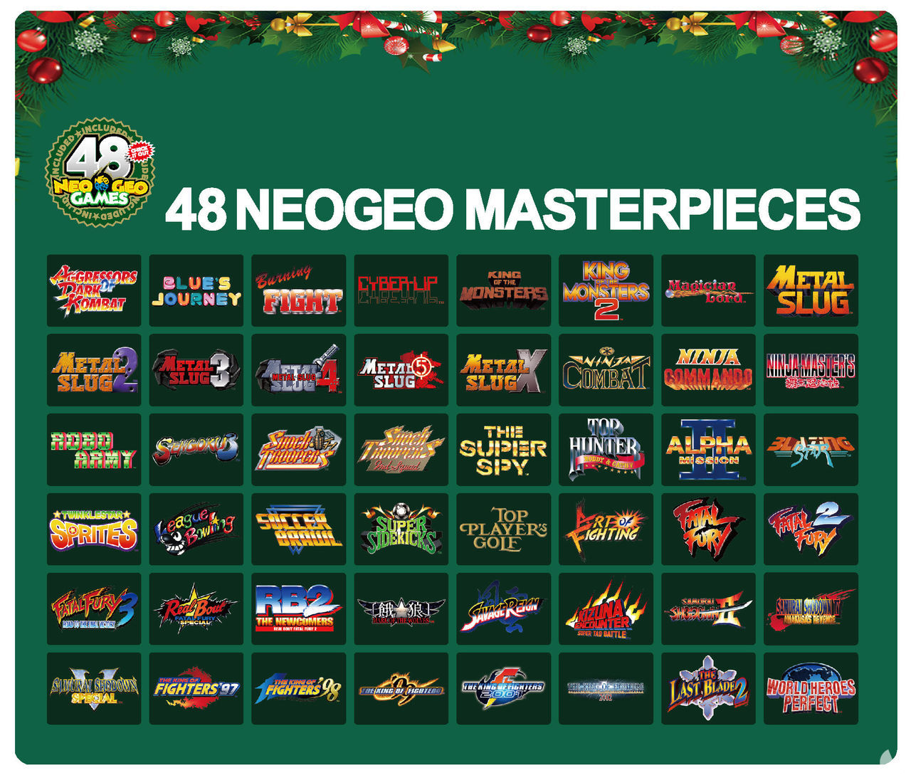 Neo Geo Mini released a special edition of the console for Christmas