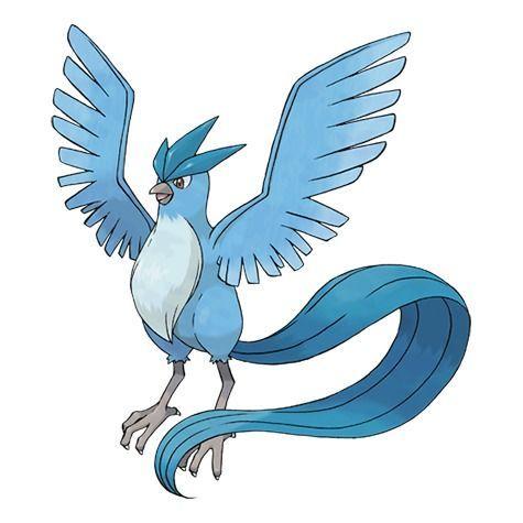 Articuno Pokémon Let's Go