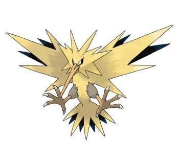 Zapdos Pokémon Let's Go
