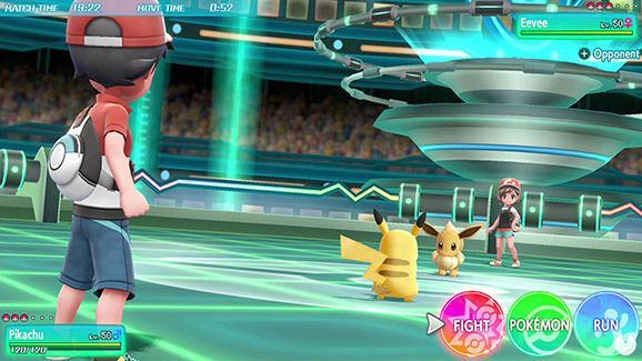 Pokémon Let's Go Multijugador