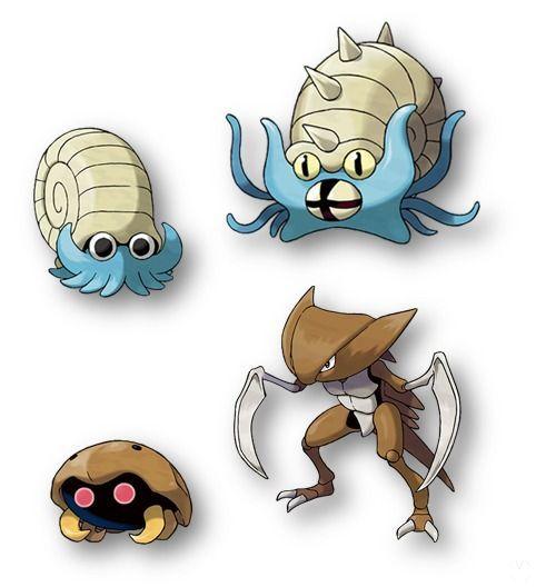 Fósiles en Pokémon Let's Go