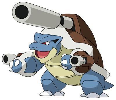 Mega-Blastoise - Pokémon Let's Go