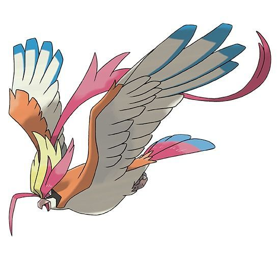 Mega-Pidgeot - Pokémon Let's Go
