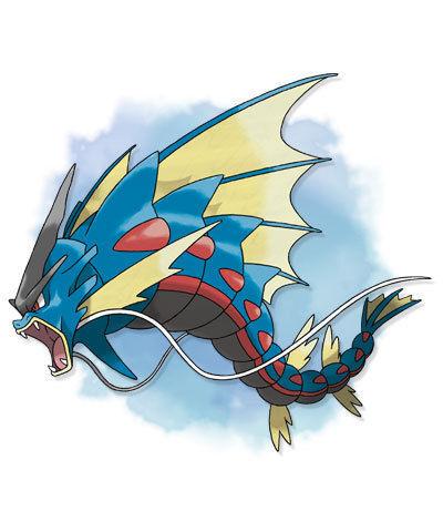 Mega-Gyarados - Pokémon Let's Go