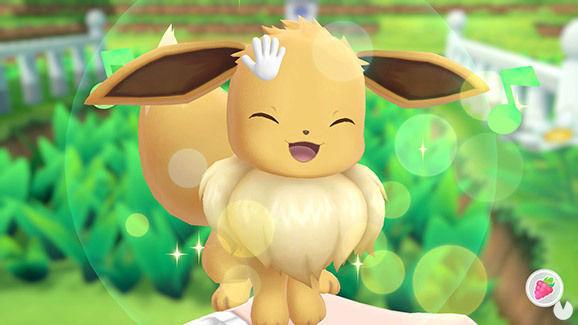 Capturar a Eevee en Pokémon Lets Go
