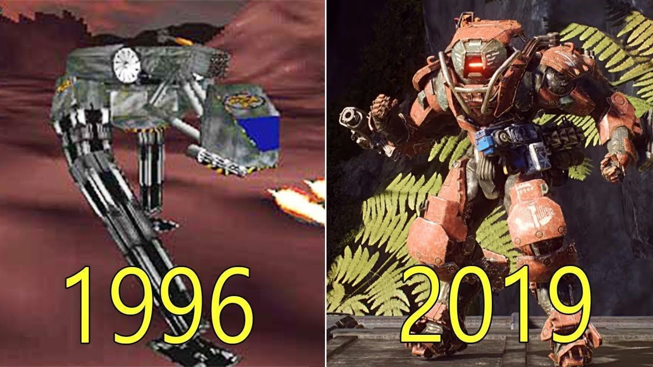 So has been the evolution graph of the BioWare games from 1996 to 2019