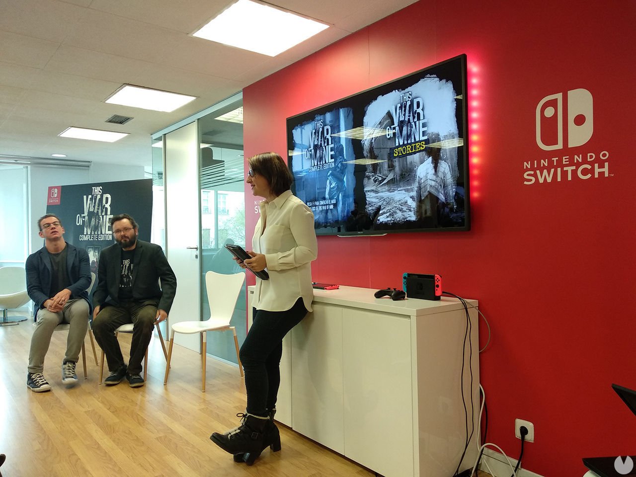 Nintendo presents in Spain the version to Switch This War of Mine