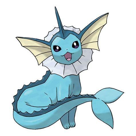Vaporeon - Pokémon Let's Go