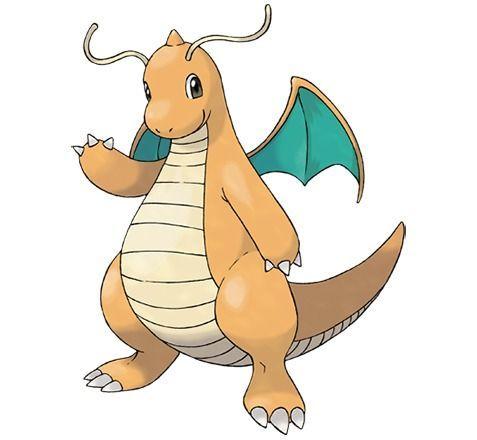 Dragonite - Pokémon Let's Go
