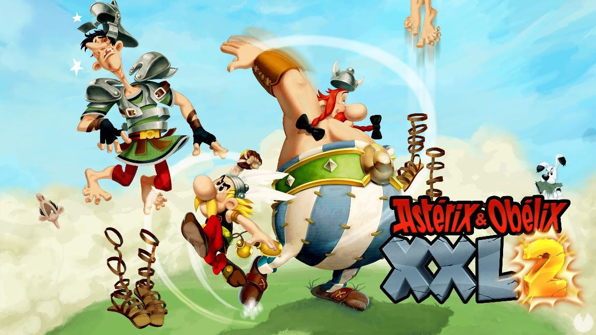 Asterix & Obelix XXL 2 shows its launch trailer