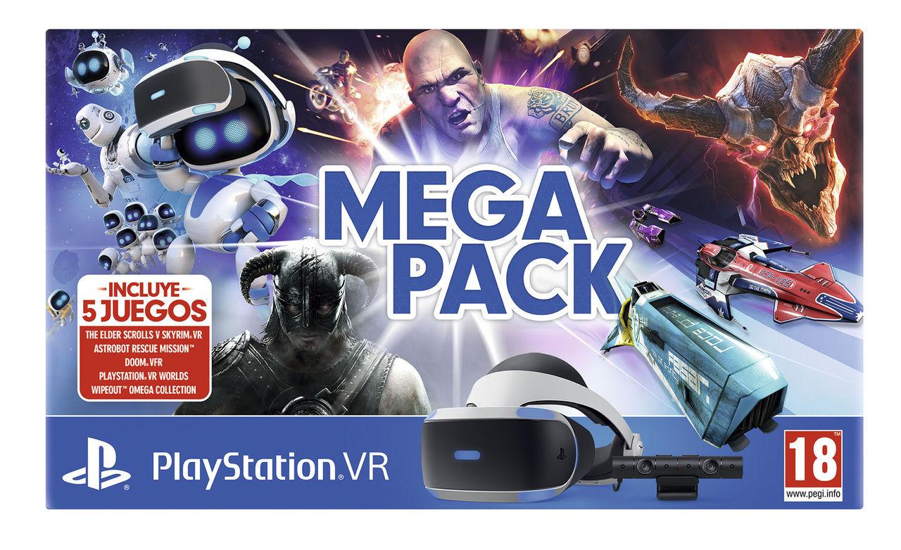 Sony Anuncia El Mega Pack Playstation Vr Con Cinco Juegos Vandal