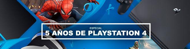 5 años de PlayStation 4