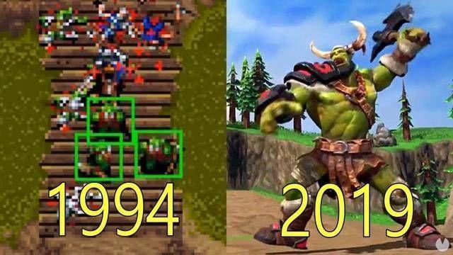 Así ha sido la evolución gráfica de los juegos de Warcraft desde 1995 a 2019