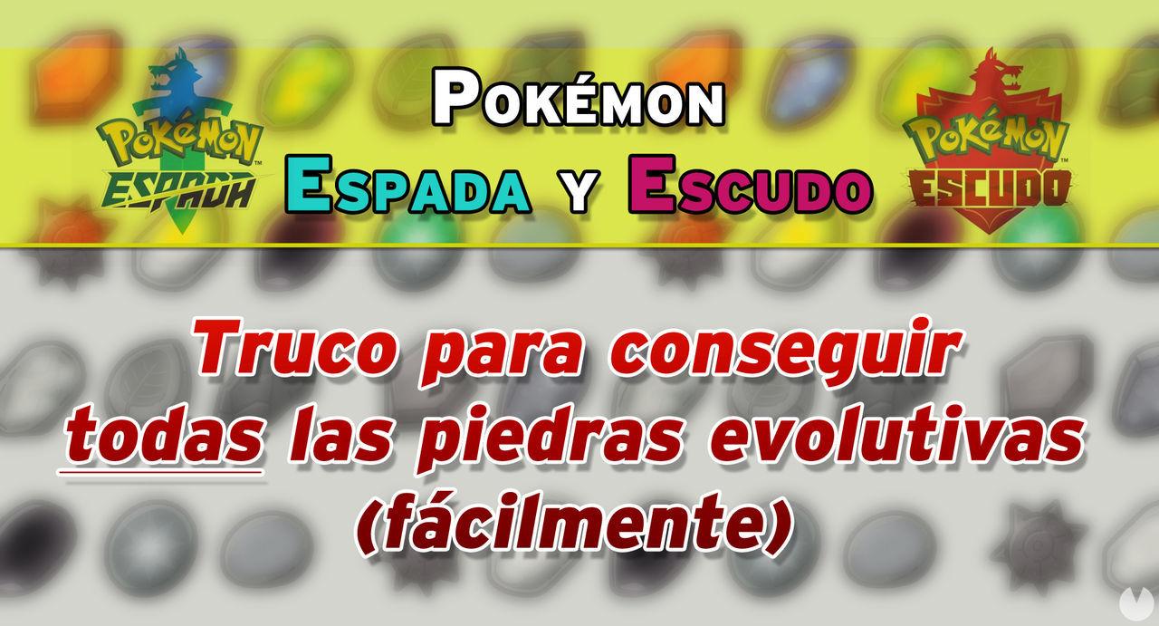Pokémon Espada y Escudo: Truco para conseguir todas las piedras evolutivas (Fácil) - Vandal