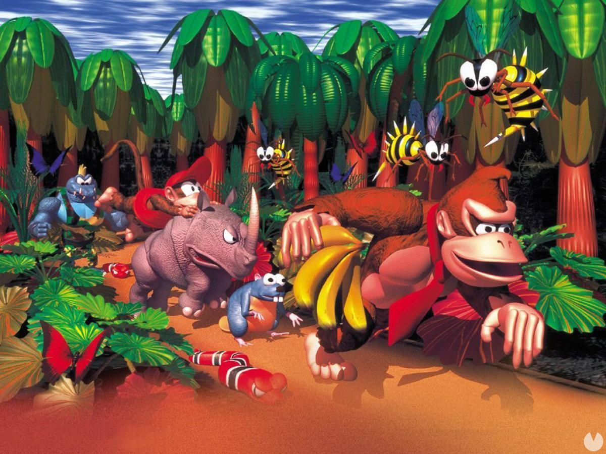Donkey Kong Country Rare turns 25 today