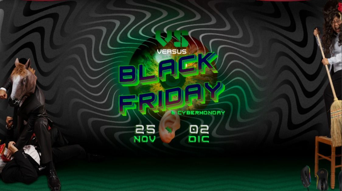 Versus Gamers starts the Black Friday more aggressive with discounts of up to 70%