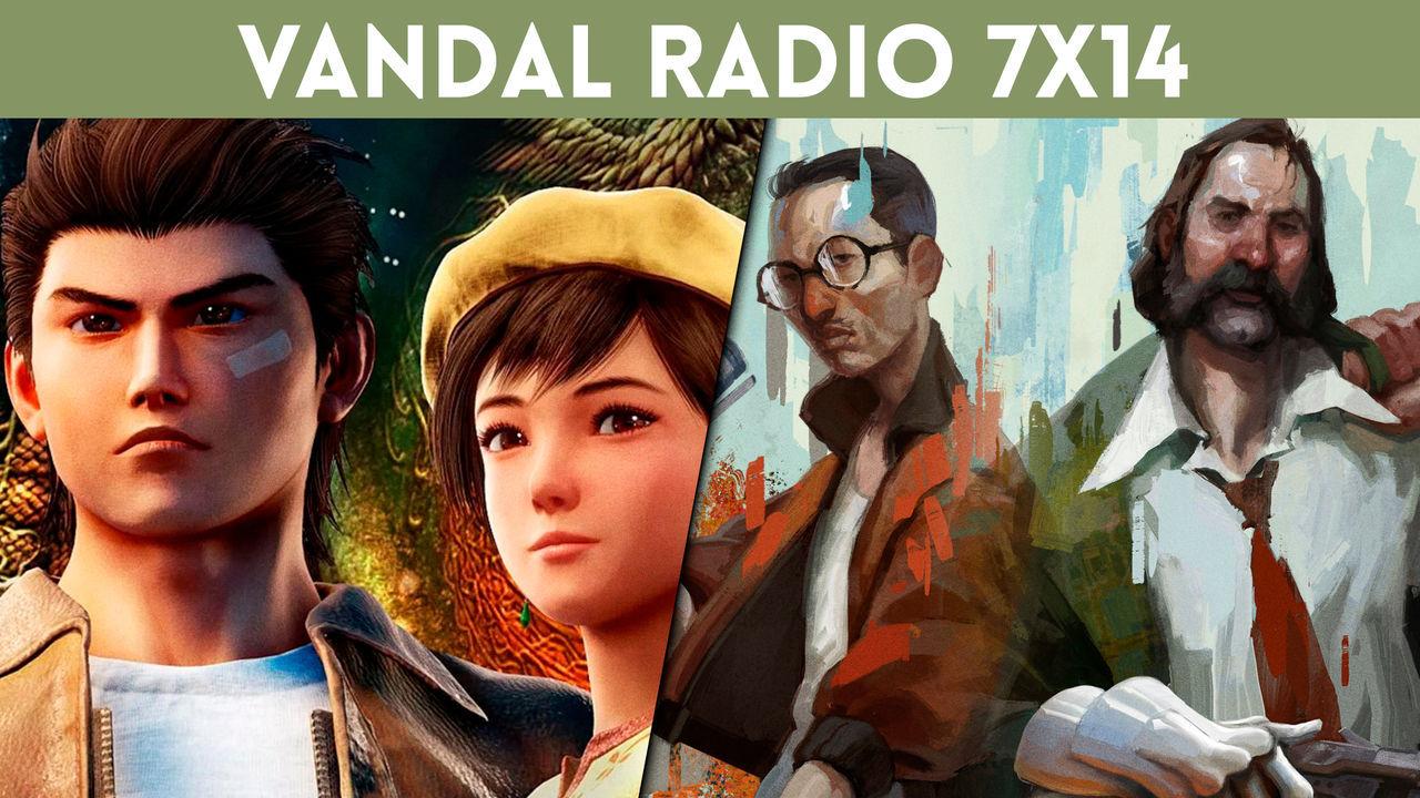 #LoMásVistoDeLaSemana #Notelopierdas Vandal Radio 7×14 – Shenmue 3, Disco Elysium y Gylt