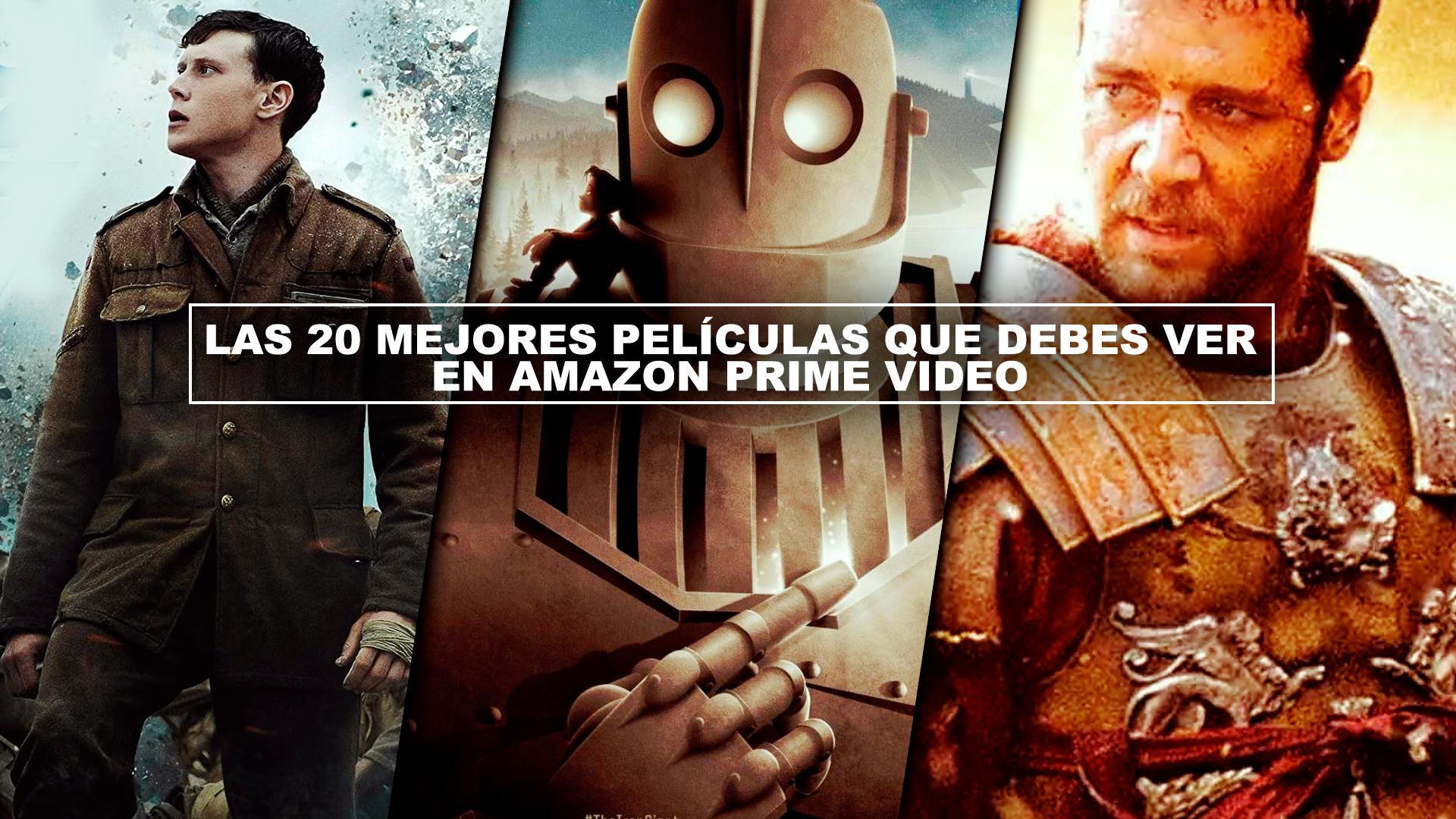 Las 20 MEJORES PELÍCULAS que debes ver en Amazon Prime Video (Actualizado Otoño 2020)