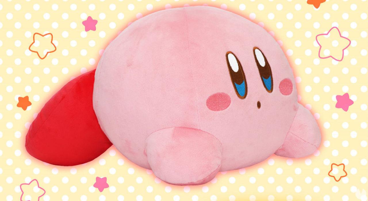 Este peluche de Kirby te mantendrá calentito porque funciona como una manta eléctrica