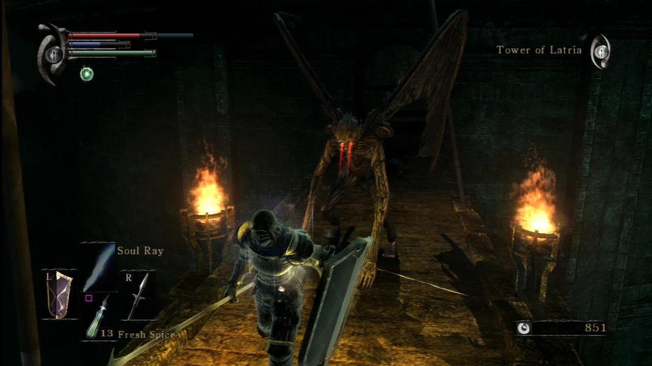 Demon's Souls la torre de latria