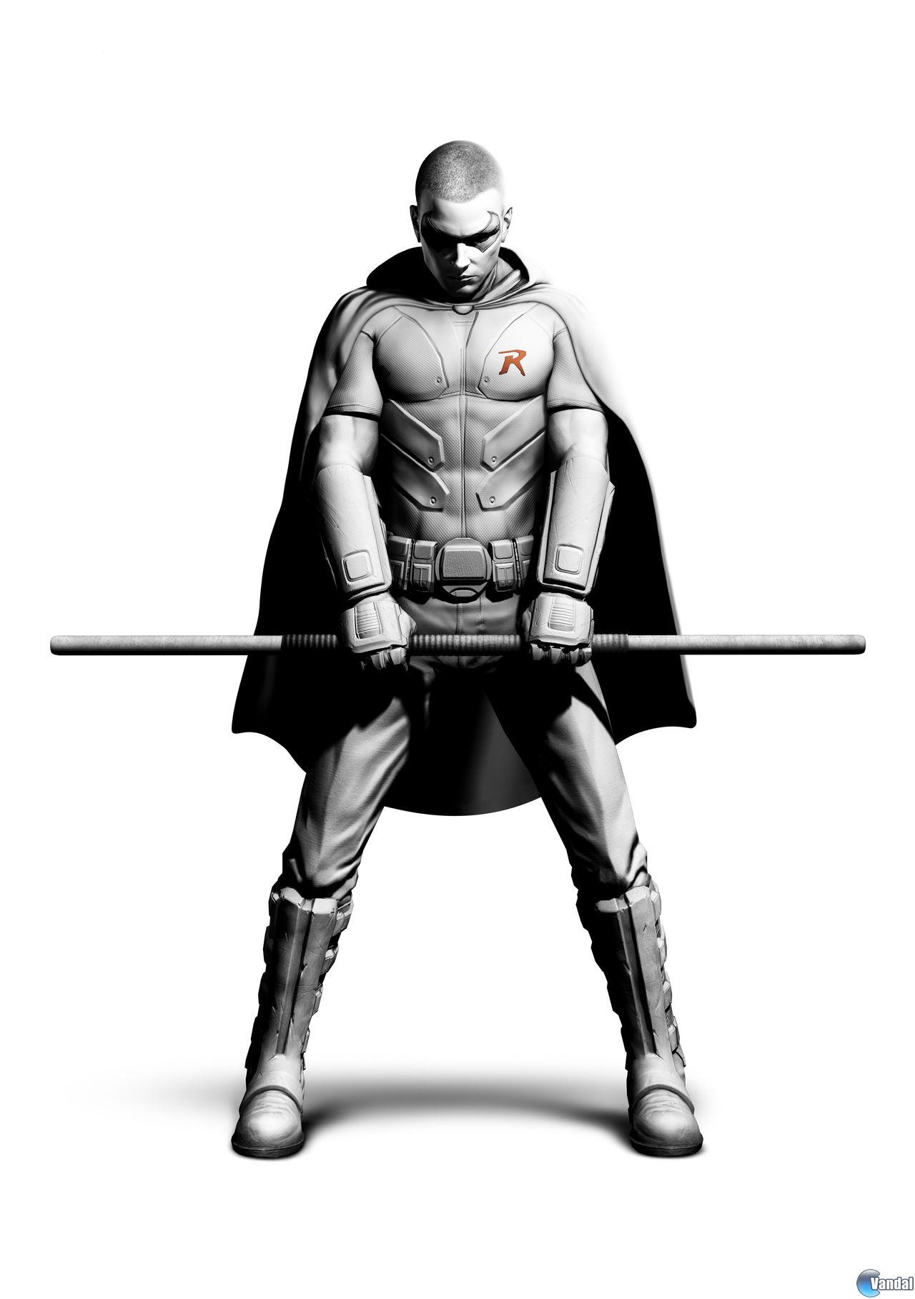 Así es Robin en Batman: Arkham City - Vandal