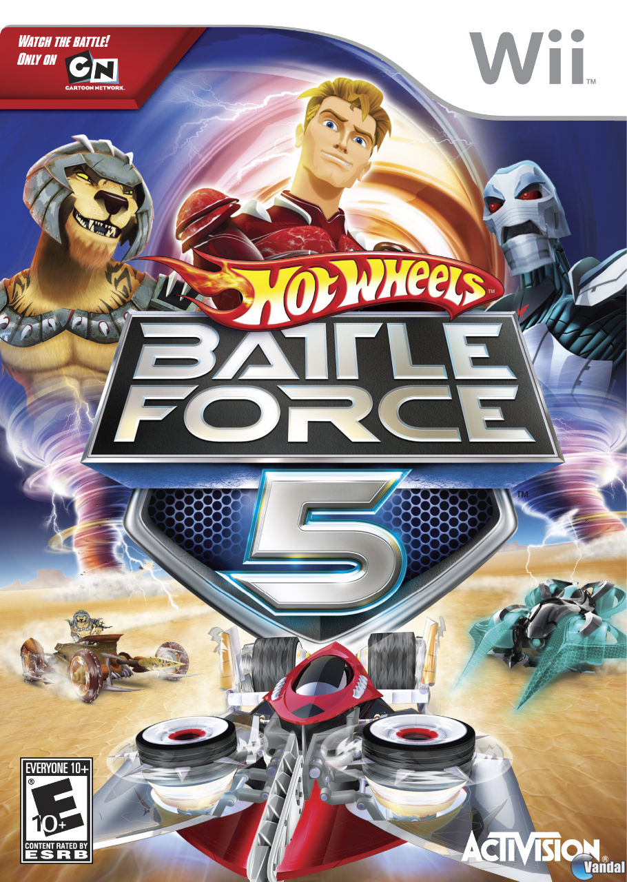 Hot Wheels Battle Force 5 Toda La Informacion Wii Nds Vandal