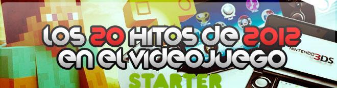 Los 20 hitos de 2012 en el videojuego