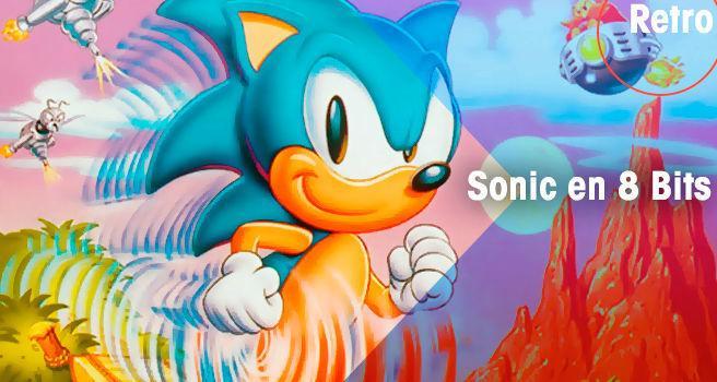 Sonic the Hedgehog en 8 bits