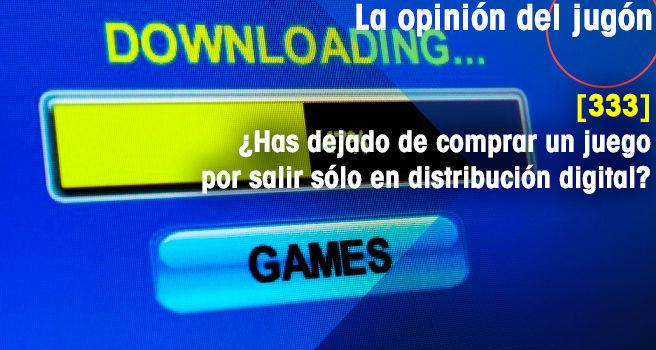 ¿Has dejado de comprar un juego por salir sólo en distribución digital?