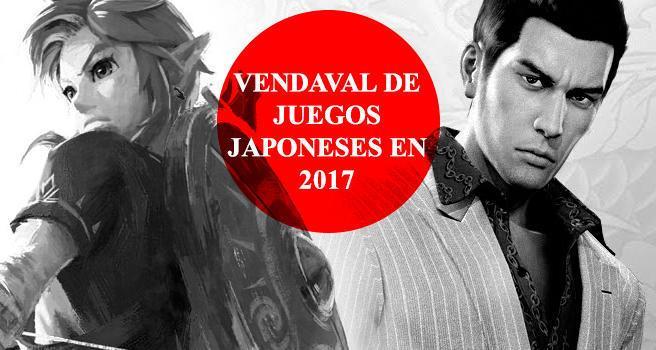 Vendaval De Juegos Japoneses En 2017