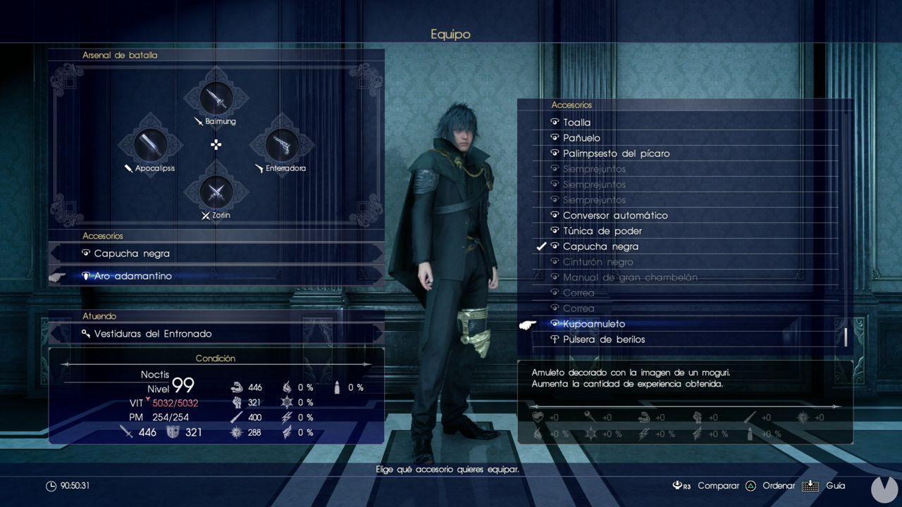 Final Fantasy XV Kupoamuletos