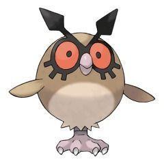Hoothoot Pokémon GO