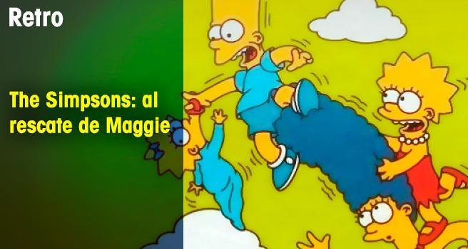 The Simpsons: al rescate de Maggie