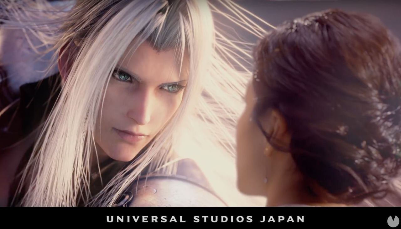 First step of the attraction of Final Fantasy for Universal Studios