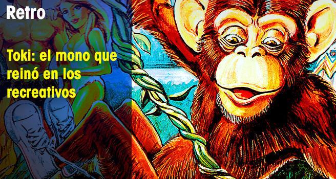 Toki: El mono que reinó en los recreativos