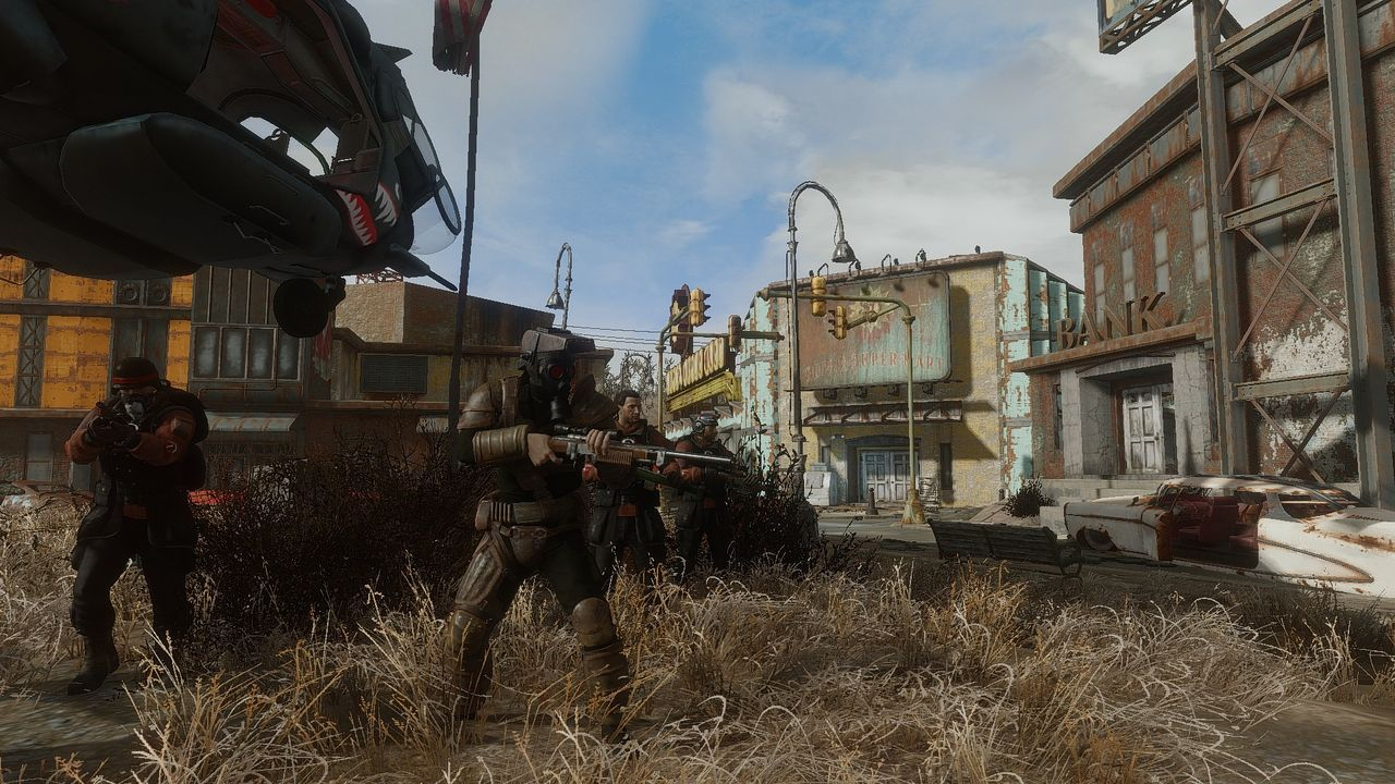 A 'mod' for Fallout 4 adds a new faction to the game