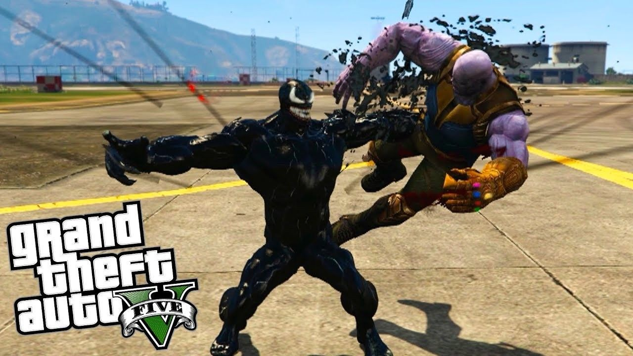 This mod for GTA V allows us to play Venom in The Saints