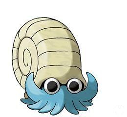 Omanyte en Pokémon Let's Go