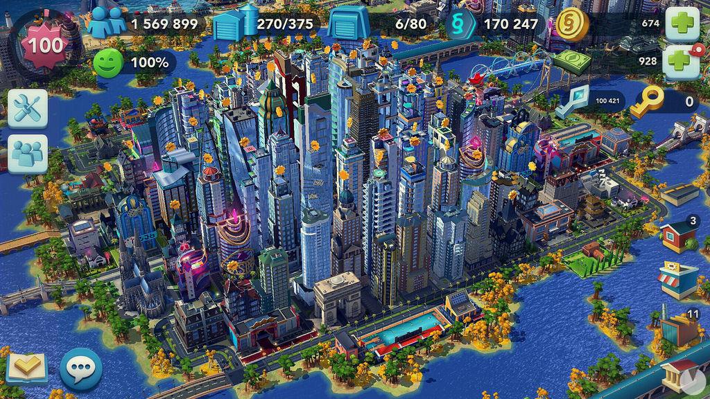 SimCity BuildIt - Fondo de ciudad