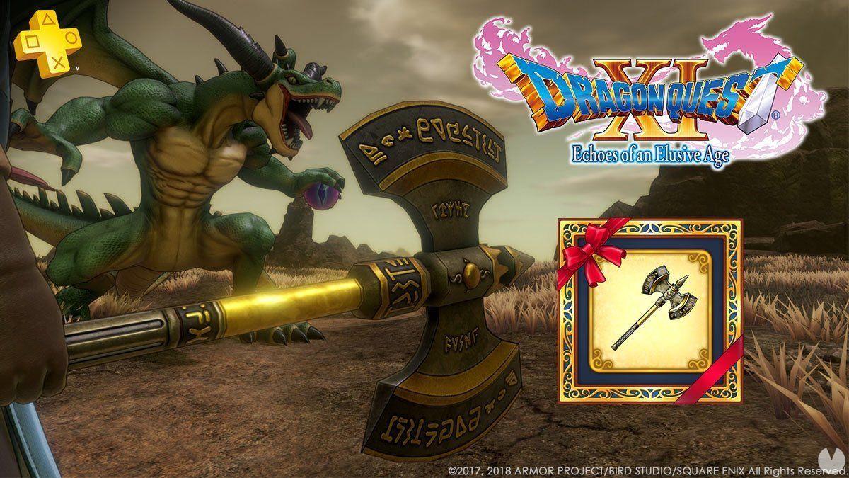 Dragon Quest XI bietet die Axt von kaiser für benutzer von PS-Plus -