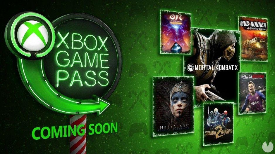 Mortal Kombat X, Ashen, Hellblade y más llegan en diciembre a Xbox Game Pass