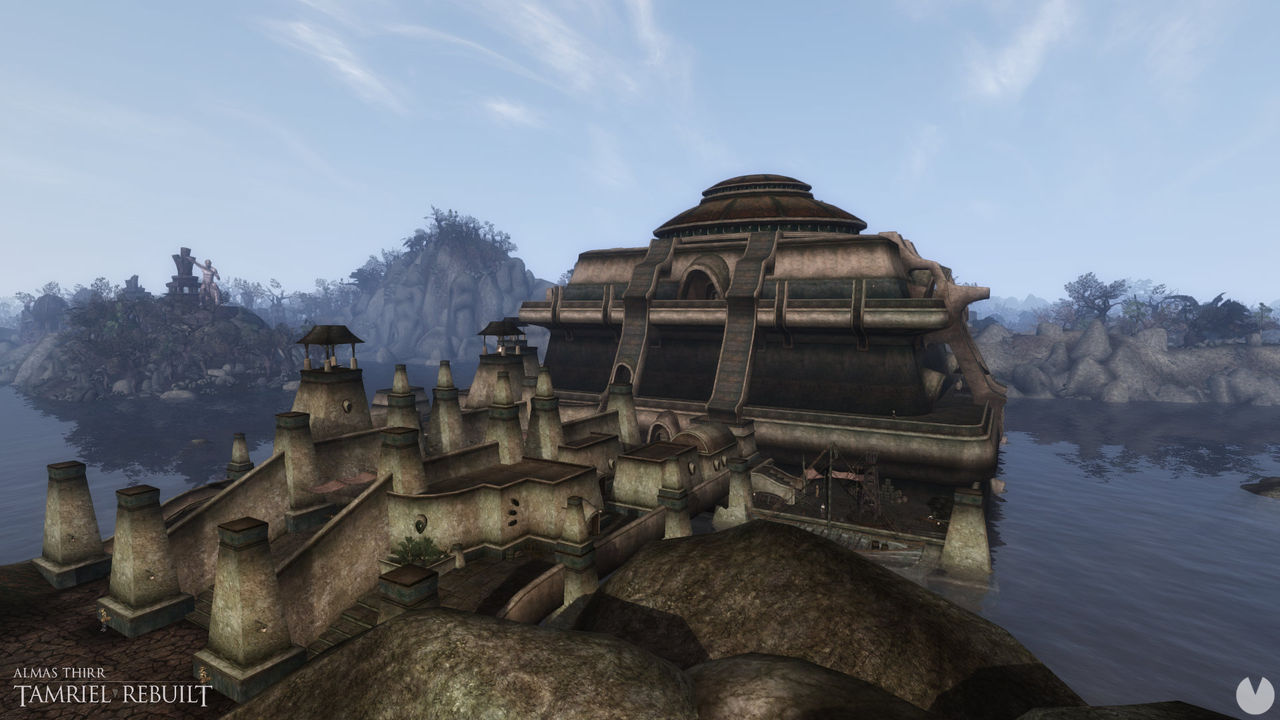 Morrowind, you receive an update of the famous mod Tamriel Rebuilt with hundreds of added