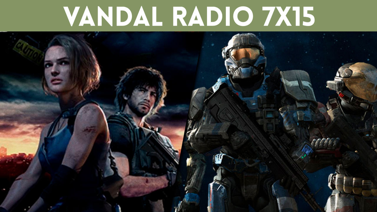 Vandal Radio 7x15 - Resident Evil 3 Remake, Halo Reach, and sales for Black Friday